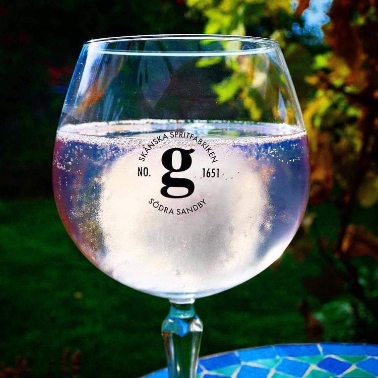 4 fl tonic water till digital Gin & Tonic provning