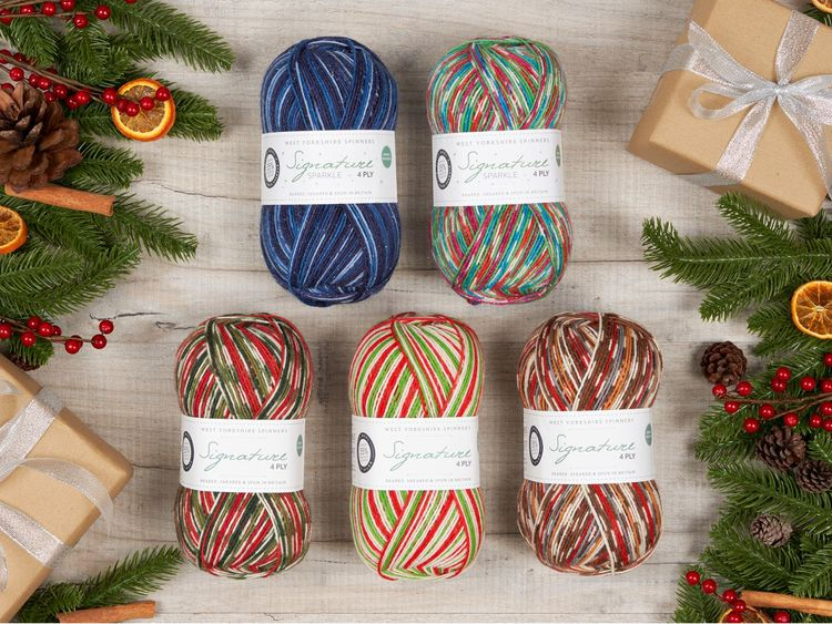 Signature 4-ply Christmas Collection
