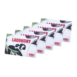 RFID laddkort 5-pack