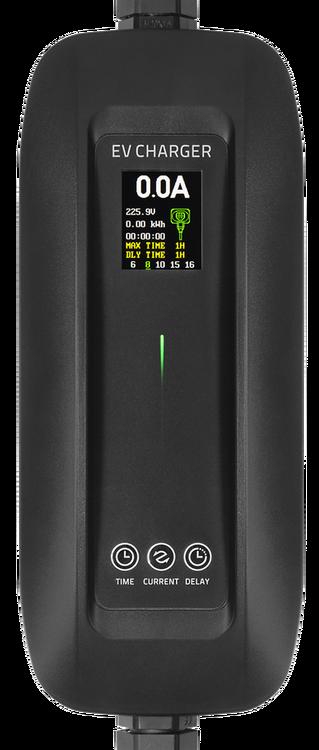 Laddkabel Schuko Typ 2 |  6-16A | 4M