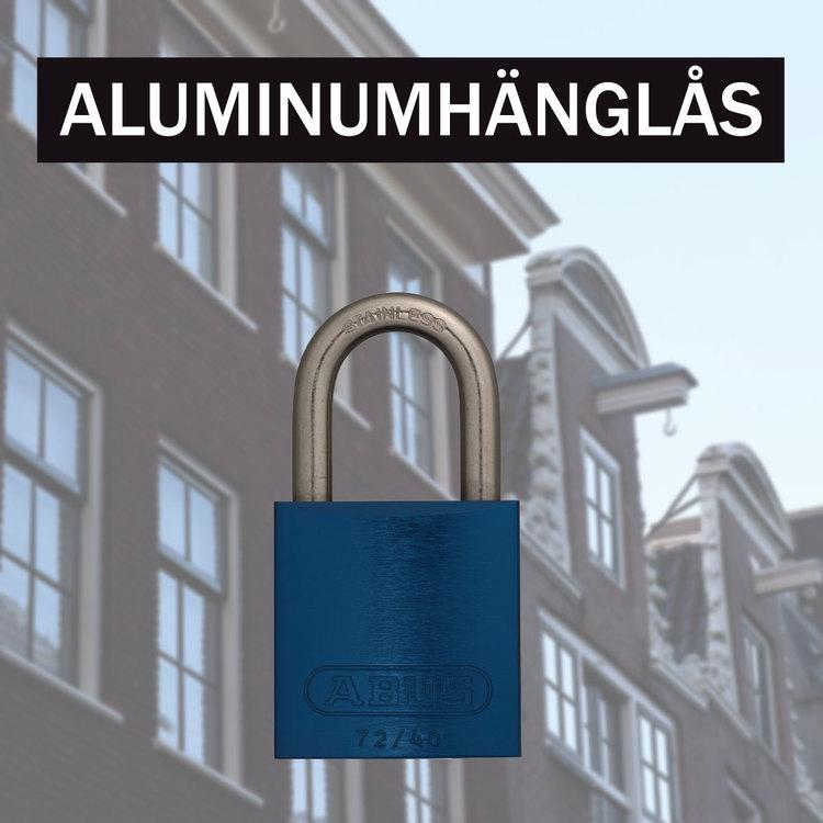 Aluminiumhänglås 72/40 & 72IB/40 TITALIUM™