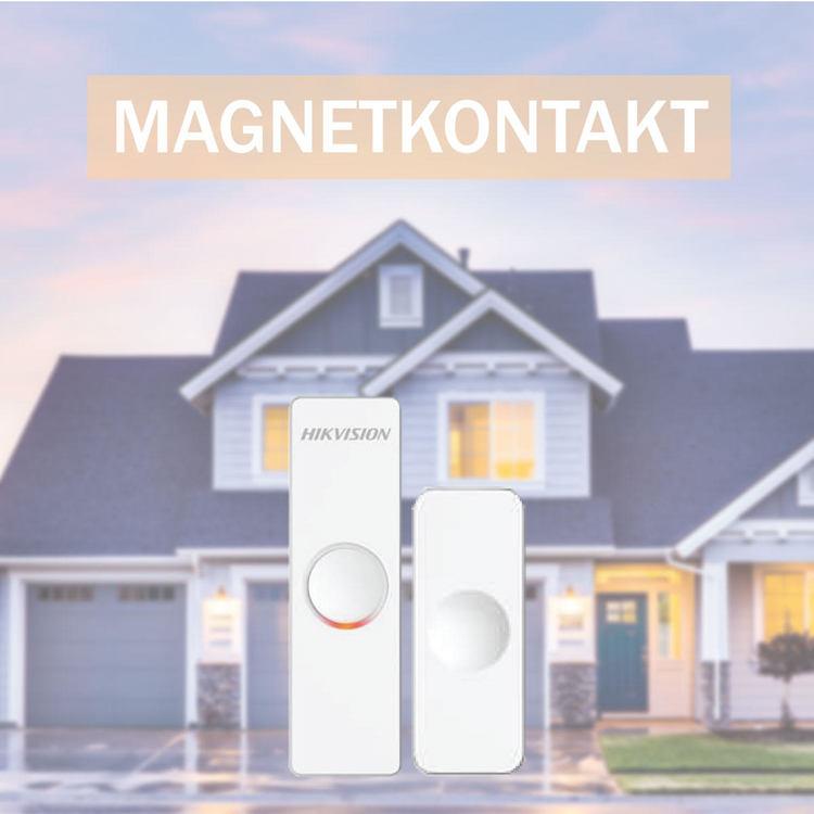 Tillbehör hemmalarm: Magnetkontakt