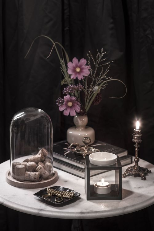 Vaxkakor 6 st Queen Lily - siciliansk lime, basilika och liljor