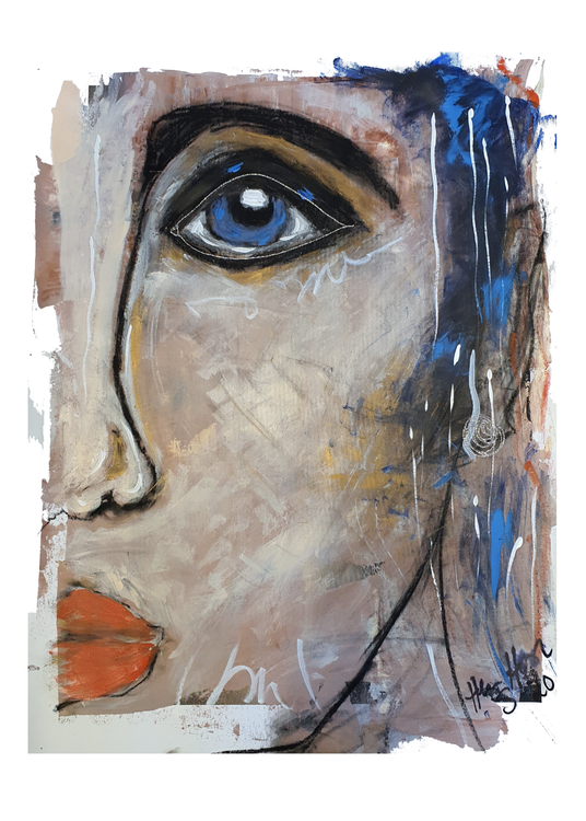 Face 1 Poster ( 50 x 70 cm )