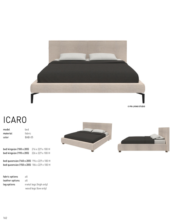 ICARO QUEEN BED