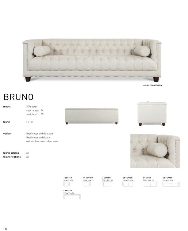 BRUNO 3,5 SEATER