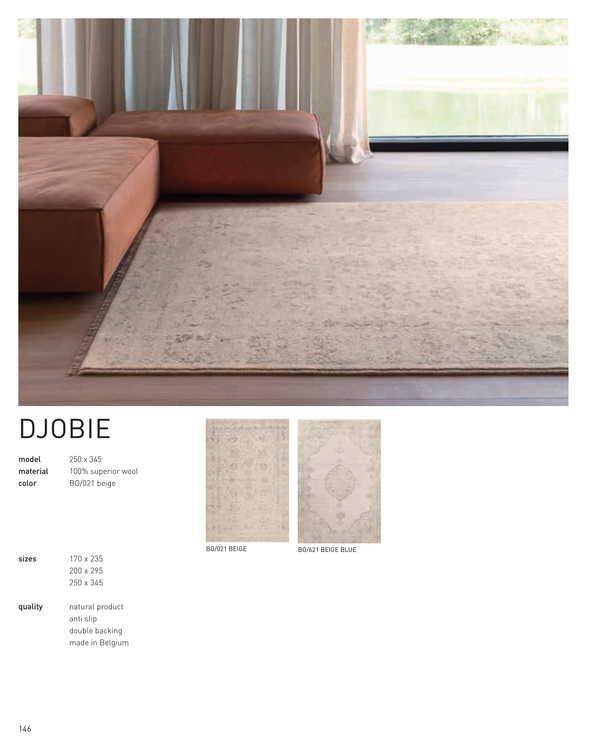 DJOBIE BO/621  beige blue