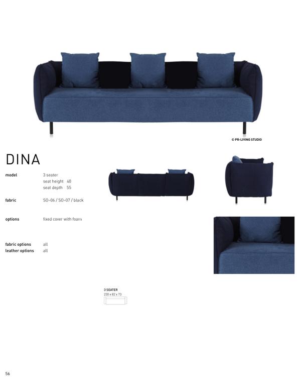 DINA 3 seater