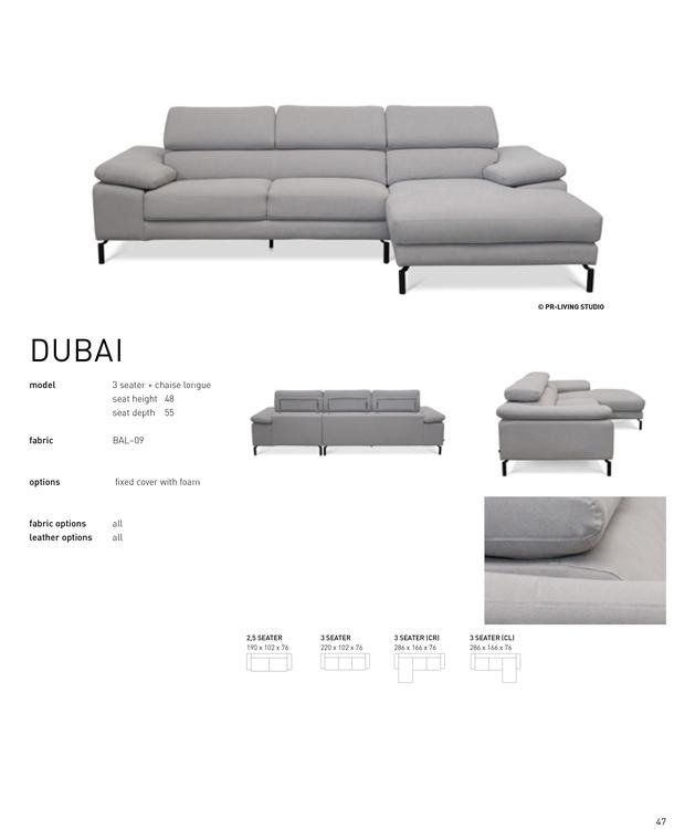 DUBAI 3 corner set