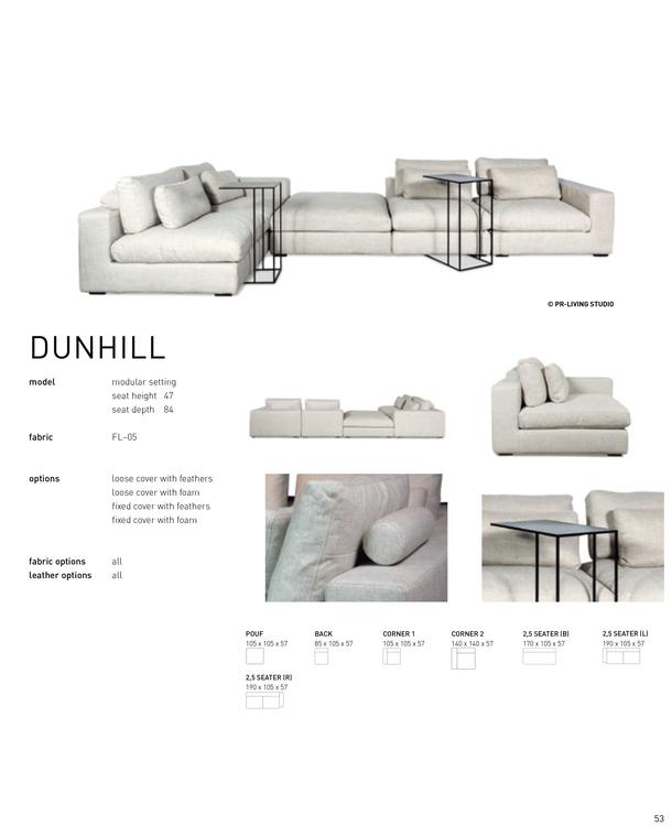 DUNHILL modular setting