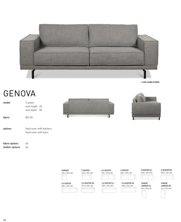 GENOVA 3 set