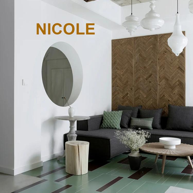 NICOLE Chaise longue R 100x200x64h Två st