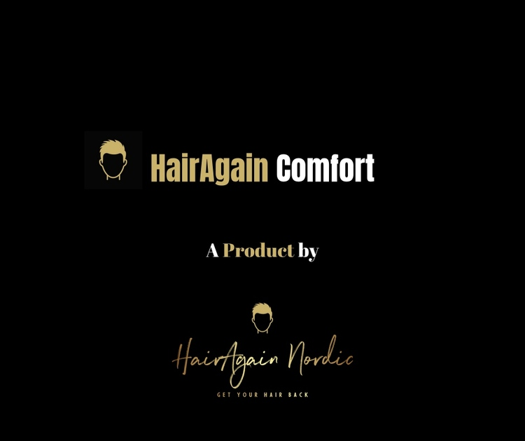 HairAgain Comfort hårsystem, hårersättning, tupé