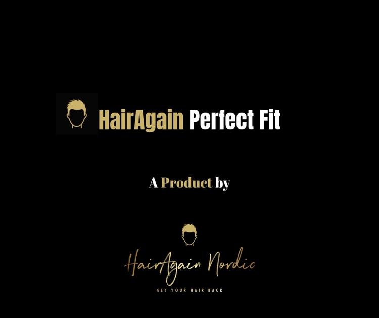 HairAgain Perfect Fit hårsystem, tupé, hårersättning.