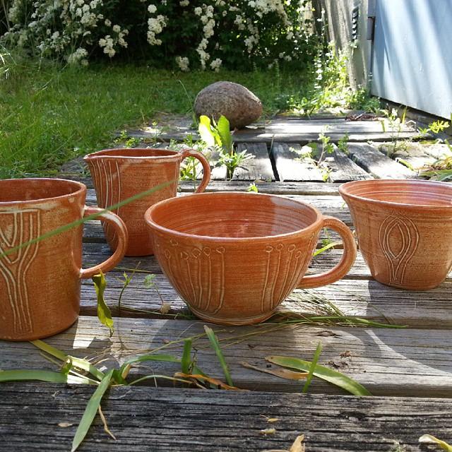 Terrakotta Te/Kaffekopp