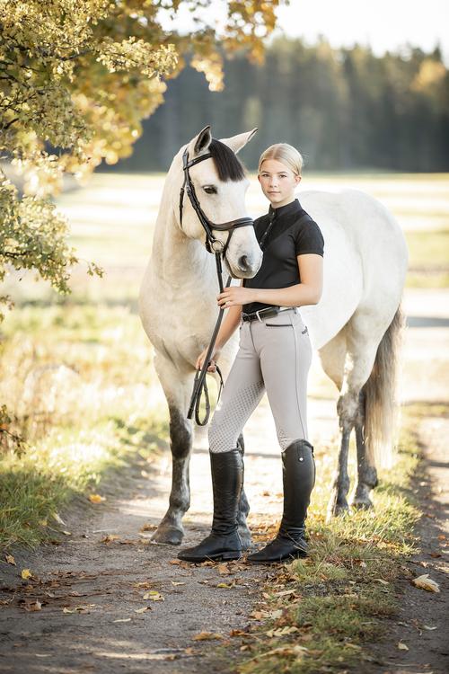 Horselife Ridbyxa Safir Vit