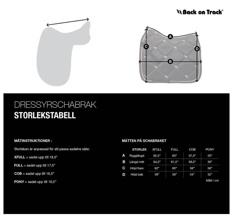 Back On Track Nights Collection Schabrak - Röd
