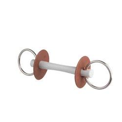 Beris Snaffle Comfort thin soft, 7,5cm ringar