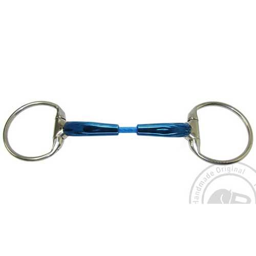 Bombers Eggbutt, Snaffle cable 12 mm tjocklek