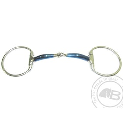 Bombers Eggbutt, Snaffle Lock Up 12 mm tjocklek