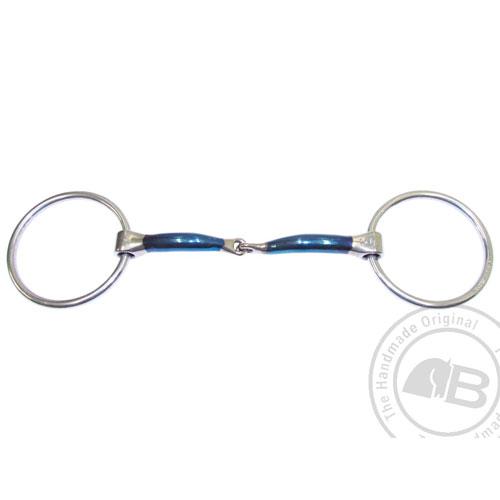 Bombers Loose ring, Snaffle Lock Up 12 mm tjocklek