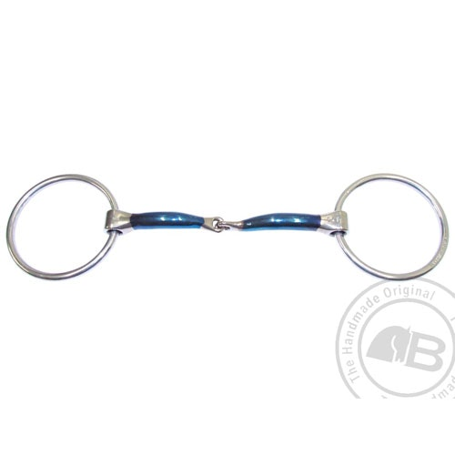 Bombers Loose ring, Snaffle Lock Up 14 mm tjocklek