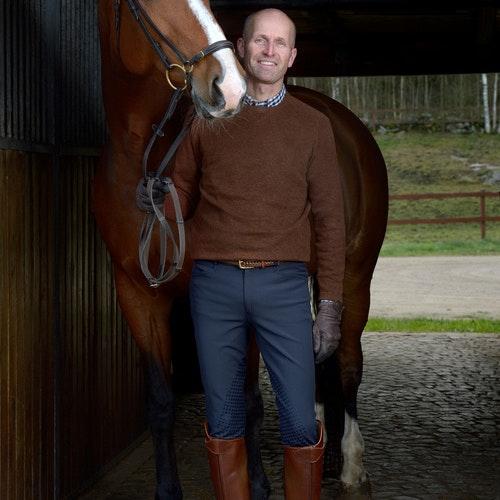 Horselife Ridbyxa Lancelot Herr Marin