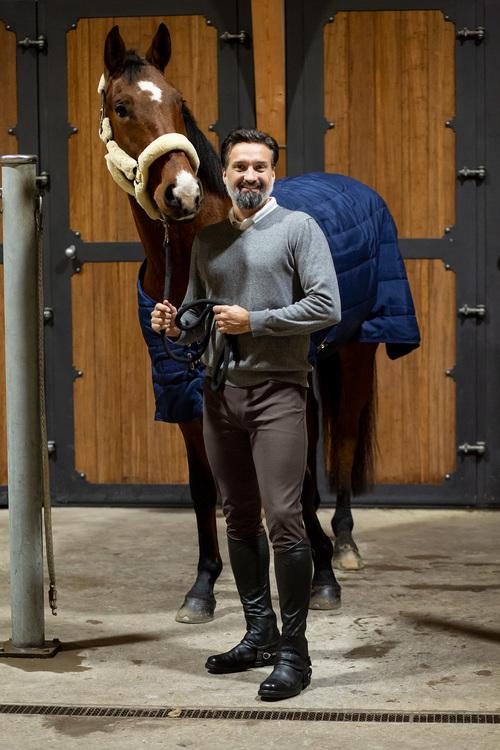 Horselife Ridbyxa Lancelot Herr Brun