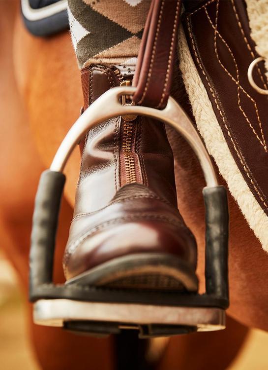 Mountain Horse Aurora Zip Paddock Brun