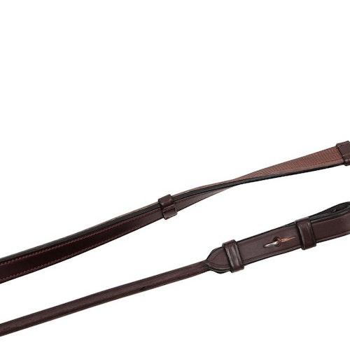 Montar Rundsydda lädertyglar med Supergrip & Stoppers Brun
