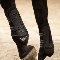 Lami-Cell Protection Boots Fetlock V22 Carbon Svart