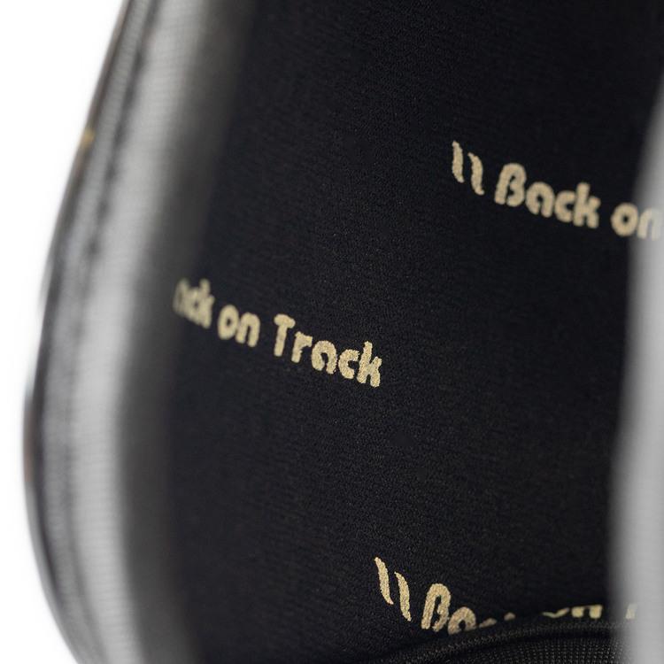 Back On Track Airflow Tendon Boots Senskydd, Svart