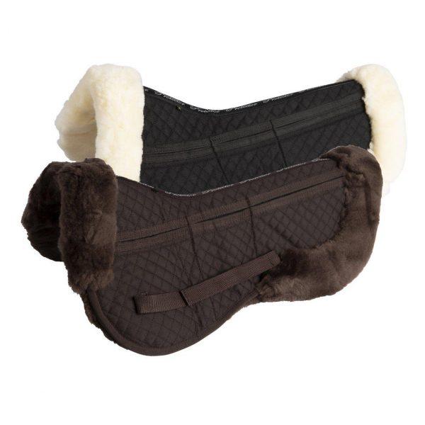 Protector Anatomisk Korrektionspad med fårskinnskant Brun