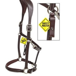 Equiline Säkerhets Lädergrimma