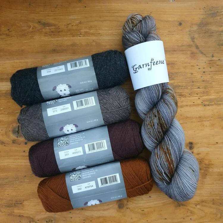 Skrapjern -tynt sokkegarn