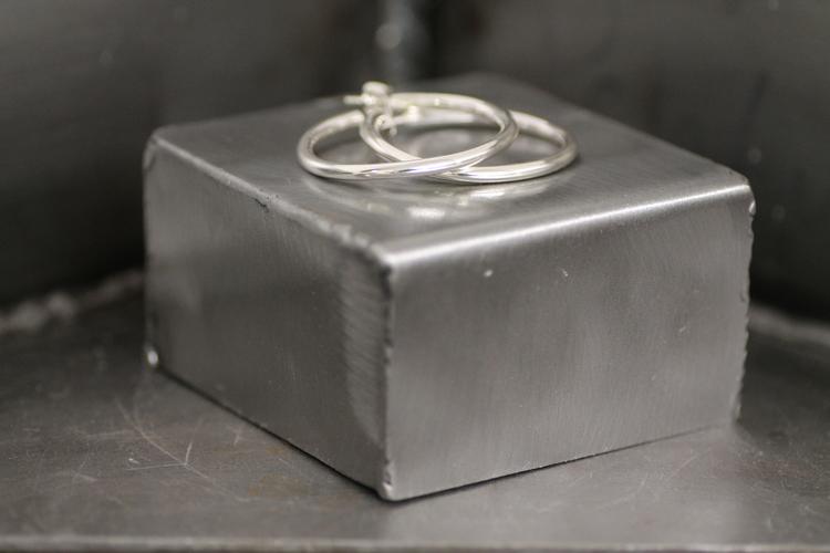 CREOL MIDI - Creolörhängen i silver