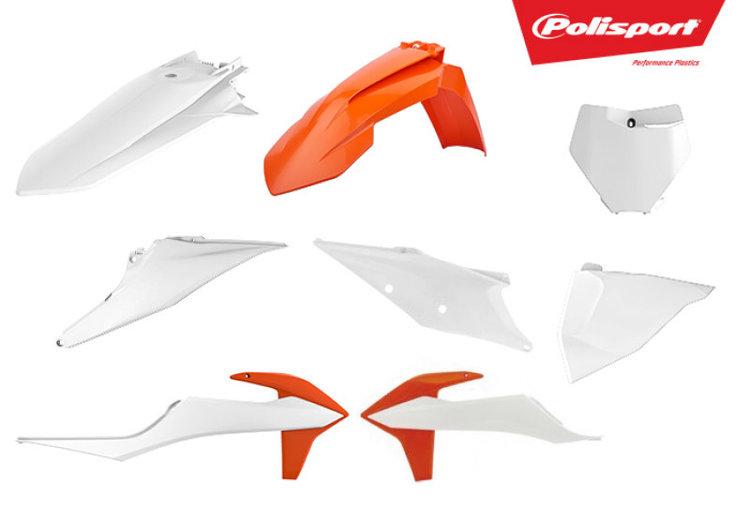 Polisport Plastic Kit KTM OEM Color 19