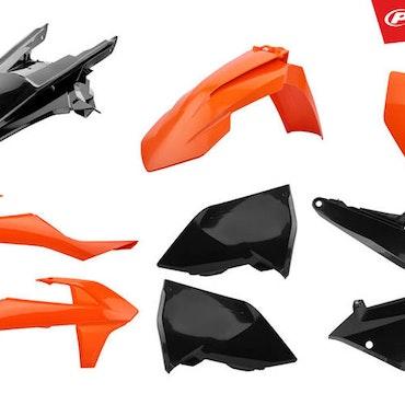 Polisport Plastic Kit Ork16/Black
