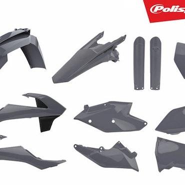 Polisport Plastic Kit KTM - N-Grey