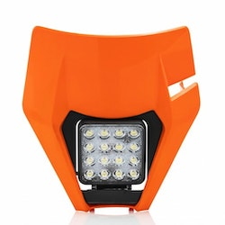 VSL HEADLIGHT MASK KTM 17-19 - ORANGE