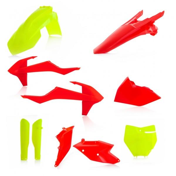 PLASTIK FULL KITS KTM SX/SXF 16-18 - FLUO