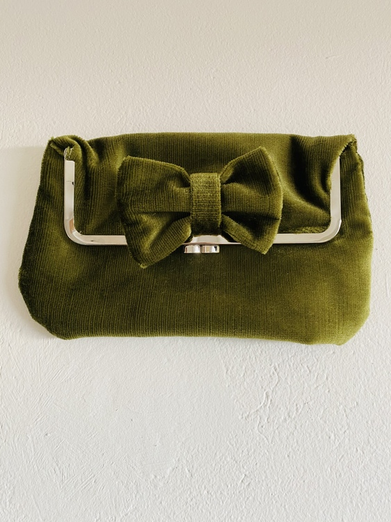 Grön clutch