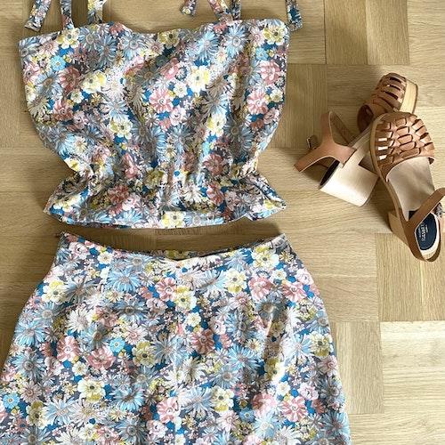Set med linne och kjol