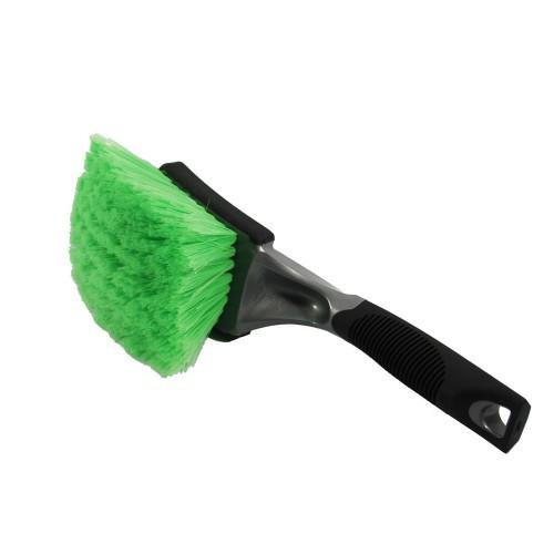 Optimum Green Ultra Soft Body & Wheel Brush