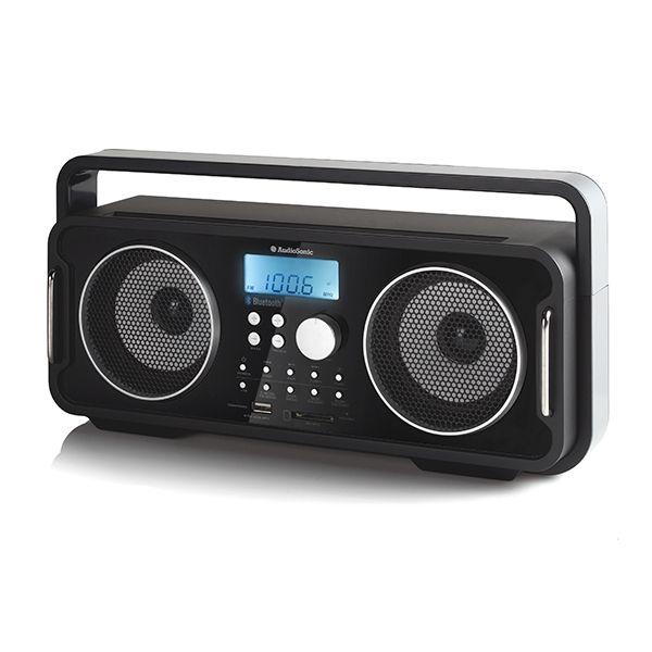 AudioSonic RD1556 oppladbar Bluetooth retro radio