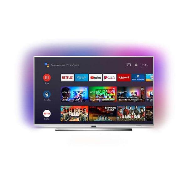 "Smart TV Philips 65"" 4K Ultra HD LED WiFi Ambilight"