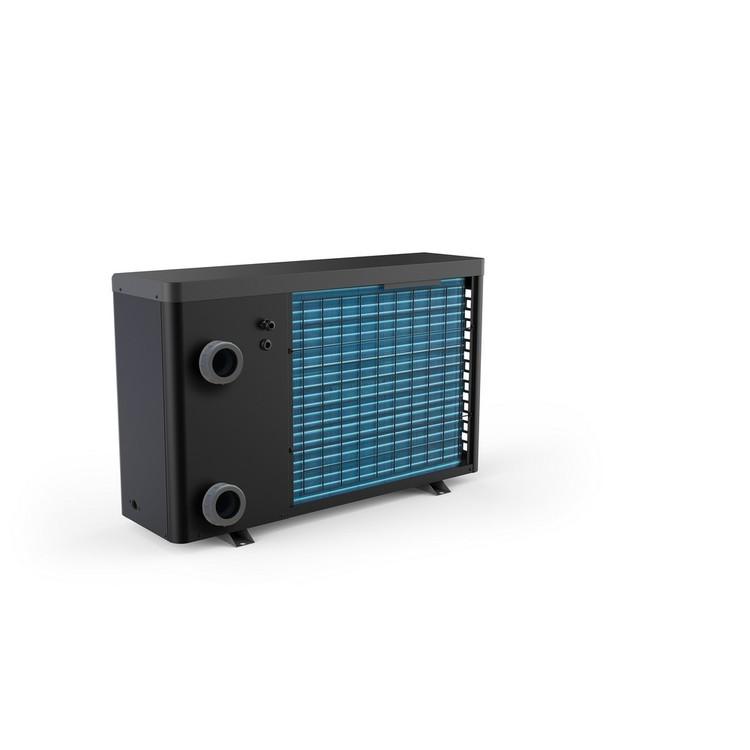 Swim & Fun Poolvärmepump Inverter Värmepump WiFi 13,5 kW