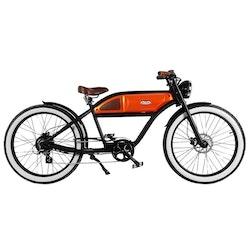 Michael Blast The Greaser 500W Svart/Orange El-Cykel