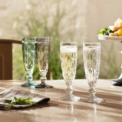 Leonardo Champagneglas BRINDISI Anthracite 6-pack