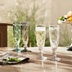 Leonardo Champagneglas BRINDISI Grön 6-pack